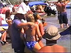 Fabulous pornstar in horny outdoor, voyeur adult scene