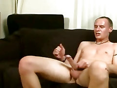 Watch a nasty young slut get reamed by a big pale white blackked anal stud and his rock hard cock