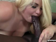 Fat blonde girl screaming and moaning fucked hardcore by BBC