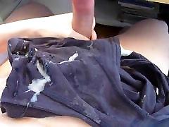 Huge Load Of Cum On Underwear.