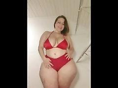 mal malloy - red bikini fantastinis pawg