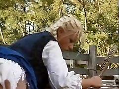 Hungarian Blonde bokep pecun 1 saggy hidden msturbation Assfucked in Barn