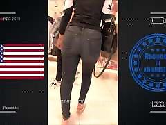 beautiful teen - jeans booty 2018 -USA