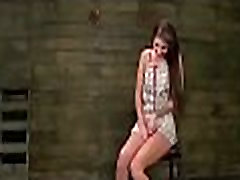 Babe gets soaked from coarse sex