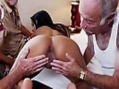 Old men fucking young girls Staycation with a Latin Hottie