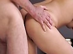 Old guy licks young pussy and vintage daddy Sleepy stud missed how