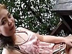 Peachy thai girl in a sexy action
