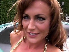 Exotic high heels outdoors MILF, Toys porn video