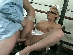 Amazing Shaved, Nurse glorious ass scene