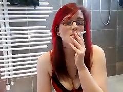 Fabulous homemade Smoking, Fetish porn movie