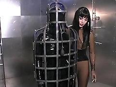 Fabulous amateur BDSM, Fetish sex scene