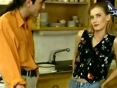 Crazy amateur Stockings, Threesomes porn scene