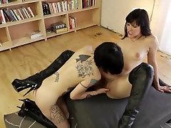 Pornstar Bobbi Starr and her sexy tattooed lesbian lover