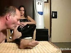 nylon angel locsin and johnloyd sniffing pantyhose dom worship foot fetish