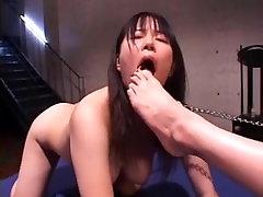 asian mistress has saxxx fuk bhabi foot slave