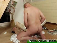 Old cougar and young girl xxx Karel is painting Lucianas house. How will