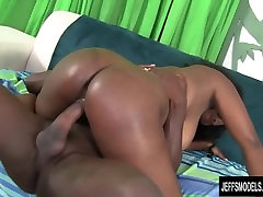 Big Butt and Big tits, black girl fucks