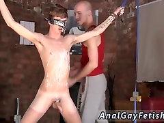 Gay bondage slave orgasm and male actors in bondage orange movie and exotic gay
