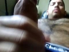 Hottest Latino American On Pornhub Masturbating Hairy Chest Handsome Guy