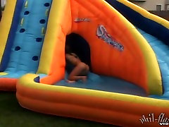Kasia naked gay hotel forced Water Slide