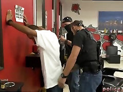Police cock movie and gay police black blowjob first time Robbery