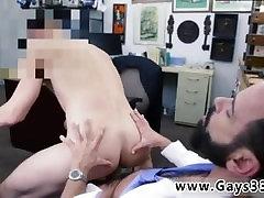 Straight dude swallows cum after blowjob fun gay black men
