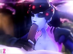 SFM - medium sized anal dp Music Video 6 - Special Overwatch - Widowmaker