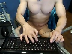 azijske mišične človek webcam