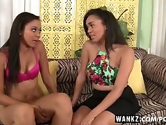 WANKZ- Hot Black Lesbians Share Intimate 69 Sex