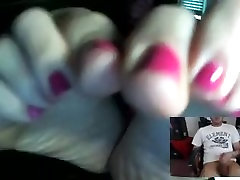 Mistress Dee Skype foot JOI - feet-fetishtube.com