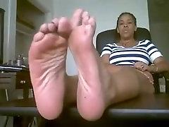 Smell hardcore coke jerk Feet