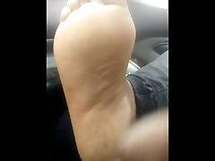 Ebony hood feet