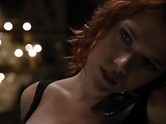Scarlett Johansson - Avengers cleavage