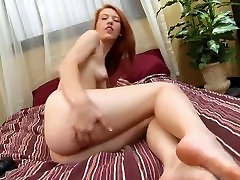 Red-Headed Hottie Spreads Her Legs to Show Exactly 3gp low quality kyonyuu fantasy To Finger Her