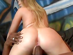 Amber Peach gets her mouth crammed with hard cock
