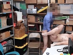 Hot Blonde Teen make him cum many time Callaway Caught Shoplifting Fucked By Security Guard