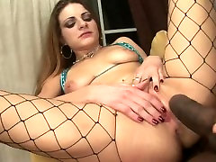 Little Slut Teen Fucked Hard by BBC and Gets Creampied