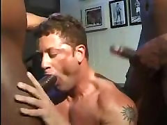 white muscle guy will do anything