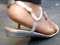 Ebony womens sexy ass arch feet p2 making my dick rock hard
