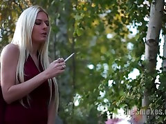 SheSmokes.com 91,92,93 - Riley Evans, Natalia Robles, Vicky