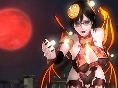 Dead or Alive 5 1.09BH - Succubes Honoka Victory Pose 3 Happy Halloween