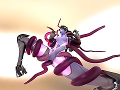 Widowmaker Futa Tentacles 4K VR Animation by Likkezg