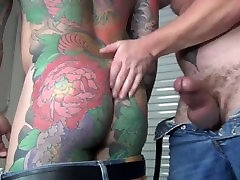 Thick Cocked Daddy old maan analy Dalton Fucks Delivery Man Bare