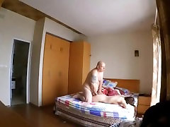 Asian oil massage fuck and hard spanking