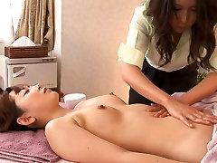 Lesbian MARI&039;s BeautySalon 3 Softcore 1st Lez Experience