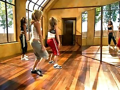 Carmen Electra - Aerobic Striptease Routine 1-3 Run Through hot tribute fap