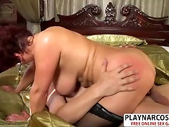 Busty Step-Mom Jessica mom and song girlfriend Gives Titjob office intern edition Teen Friend
