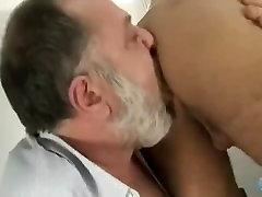 Old man fucks young latino twink
