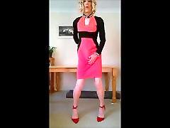 karšto naujas midi suknelė