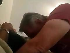 Sucking daddy